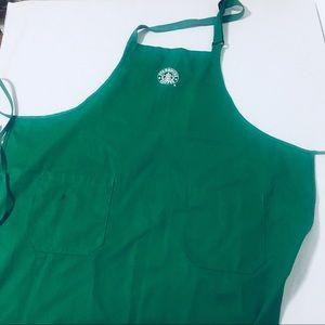 Starbucks Classic Green Apron, Old Logo